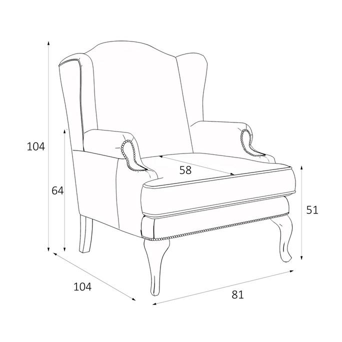 Кресло Френсис M12-BN-B14