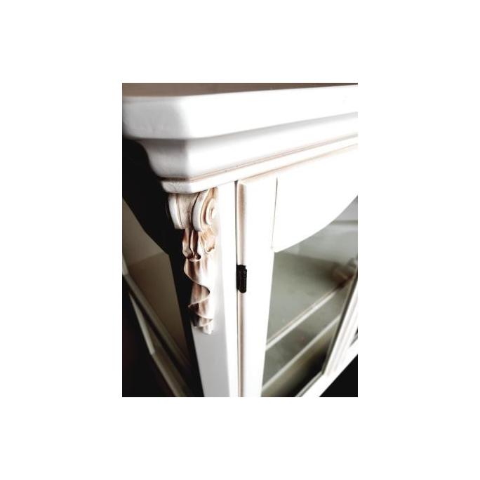 Витрина 2-х дверная низкая White Rose