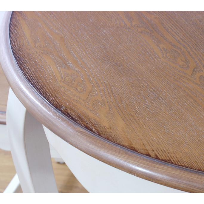 Прикроватная тумба овальная (приставной столик) ST9331