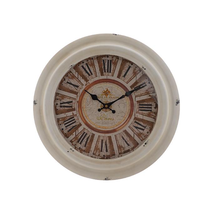 Часы настенные круглые с римскими цифрами 3330-1