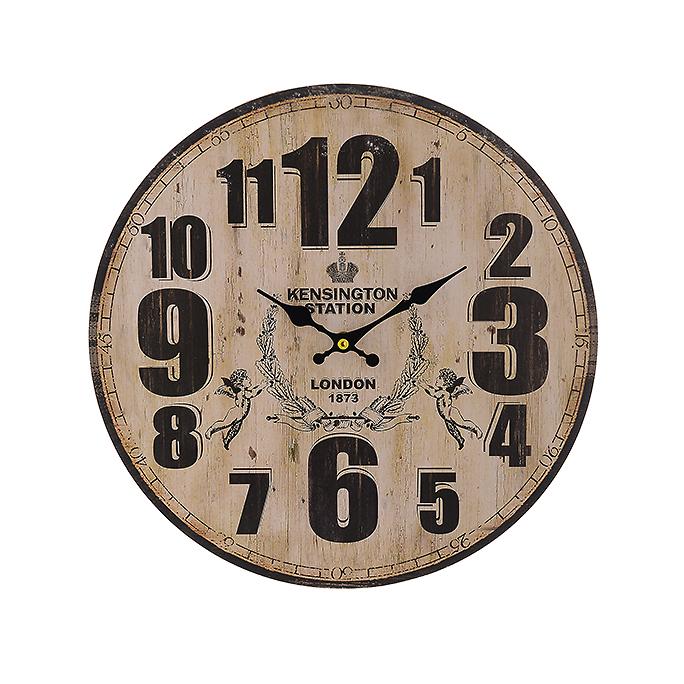 Часы настенные круглые (34см) 50620