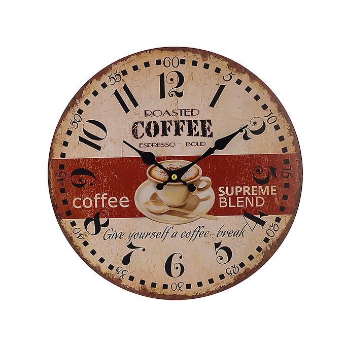 Часы настенные круглые (34см) 50917
