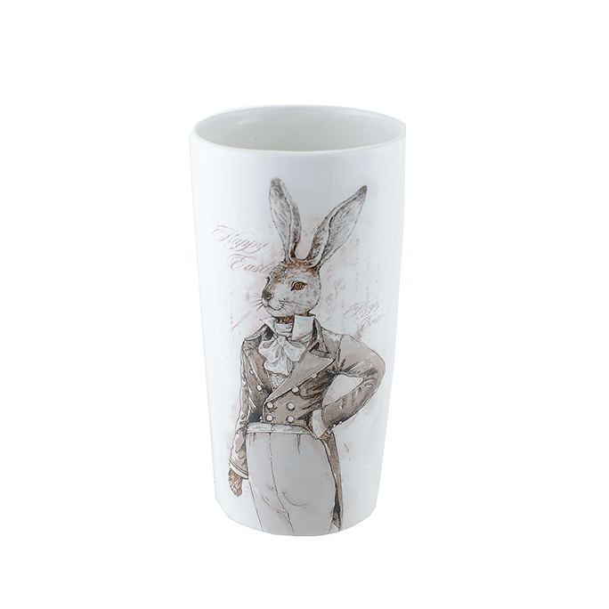 Ваза керамическая с крольчихой 2616809