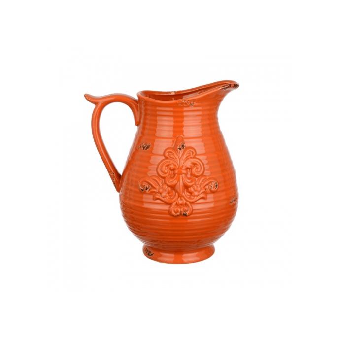 Ваза Керамическая оранжевая 18х14х20,5 FD07-0009