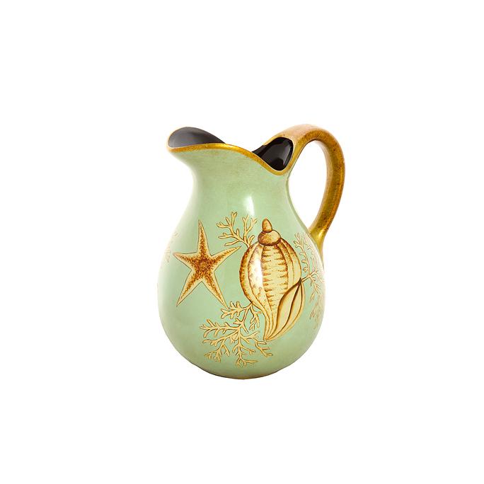 Ваза-кувшин из глины Морская ракушка H19388-02401-10