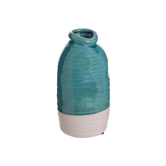 Ваза керамическая Голубая роза (24см) L306