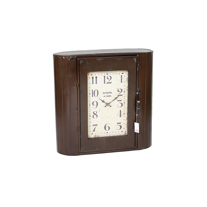 Часы - шкафчик темный 60х22х60 MU13B-F028L2