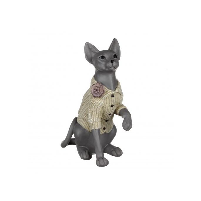 Статуэтка кошка сфинкс 18,5х9,5х25 QJ99-0055