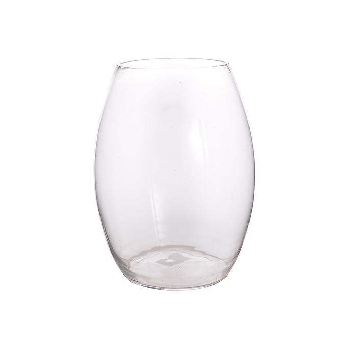 Ваза стеклянная-сосуд (14х14х26) YJ06
