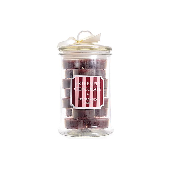 Набор арома свечей в банке шоколад 1111598-шоколад