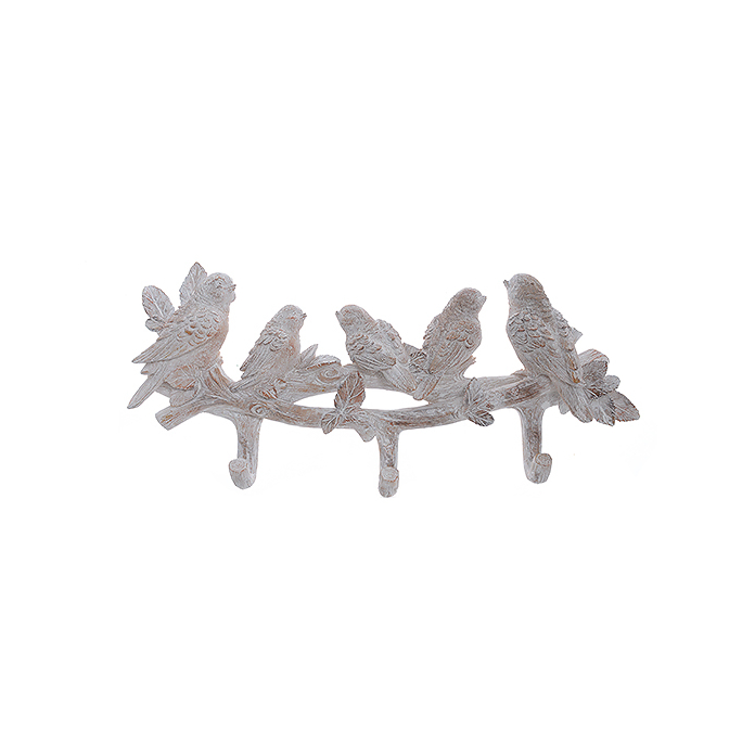 Вешалка с птичками бежевая C14330UL