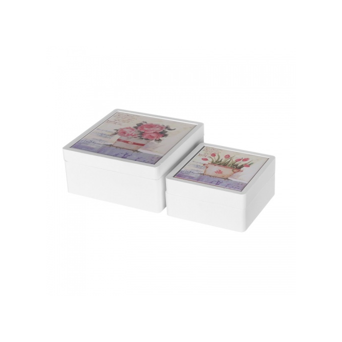 Набор коробочек 17x17x8 CG25P-0017