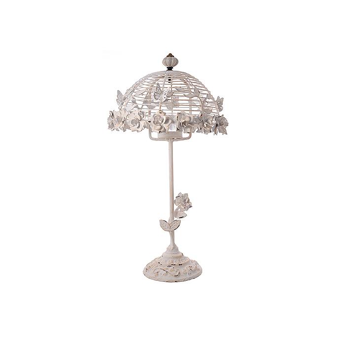 Подсвечник декор - лампа с розами LWJM4494W6
