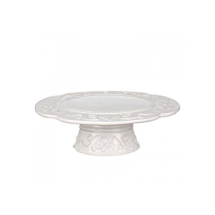 Подставка для торта (завиток) 25х25х8 (Отгружается по 1 шт) MC08-0005