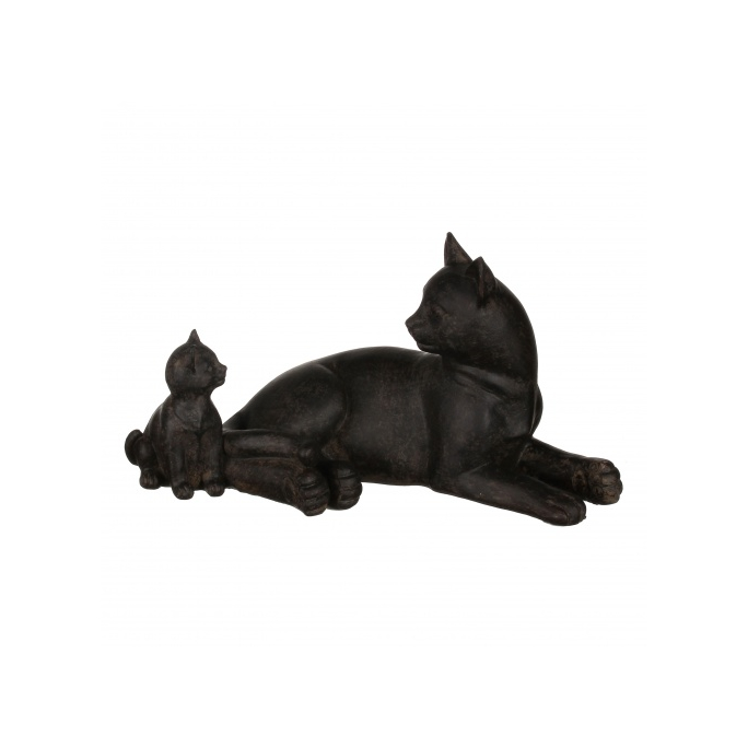 Статуэтка кошки 17х8,5х9 QJ99-0041