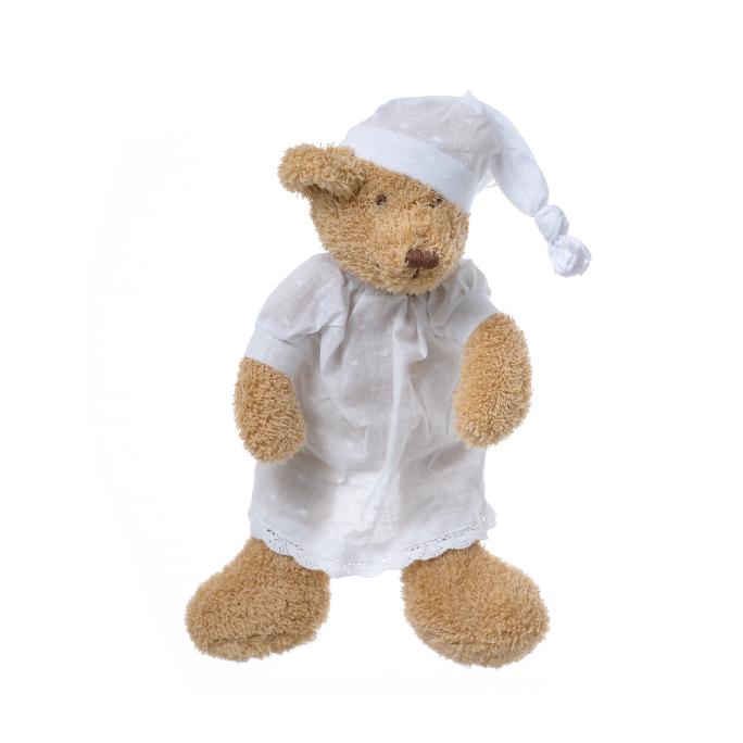 Медвежонок коричневый девочка в ночной сорочке 27 см FT1327044