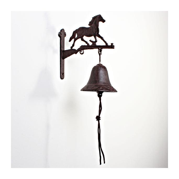 Колокольчик декоративный / Лошаль 19*9,5*16,5 см LT-I14685