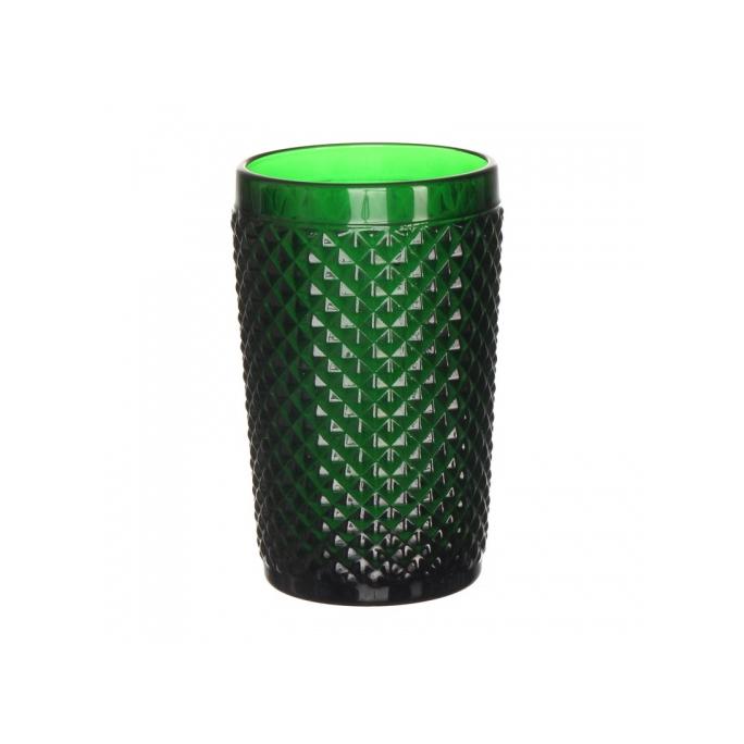 "Стакан ""Ромб"" темно-зеленый (набор 6шт)"