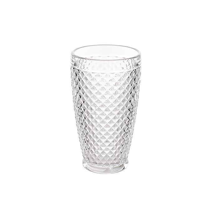 Стакан для воды стеклянный Ромб TLS7371 (набор 6шт)
