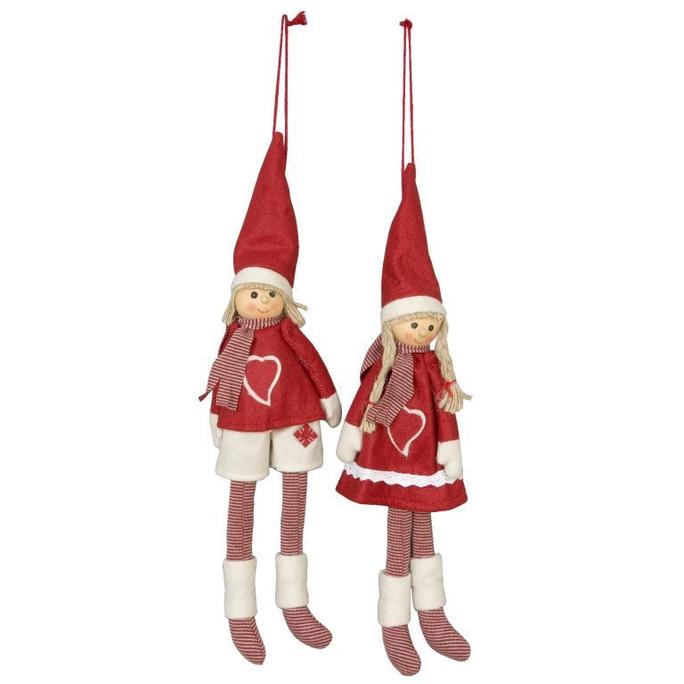 Тильда куклы подвесные (2) 30 см TW0019