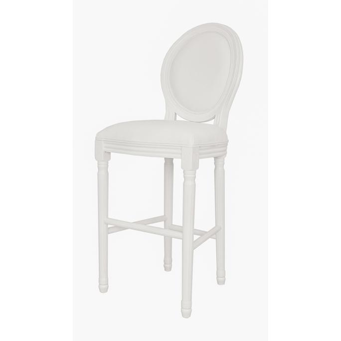 Стул барный прованс Filon white 5KS24519-L