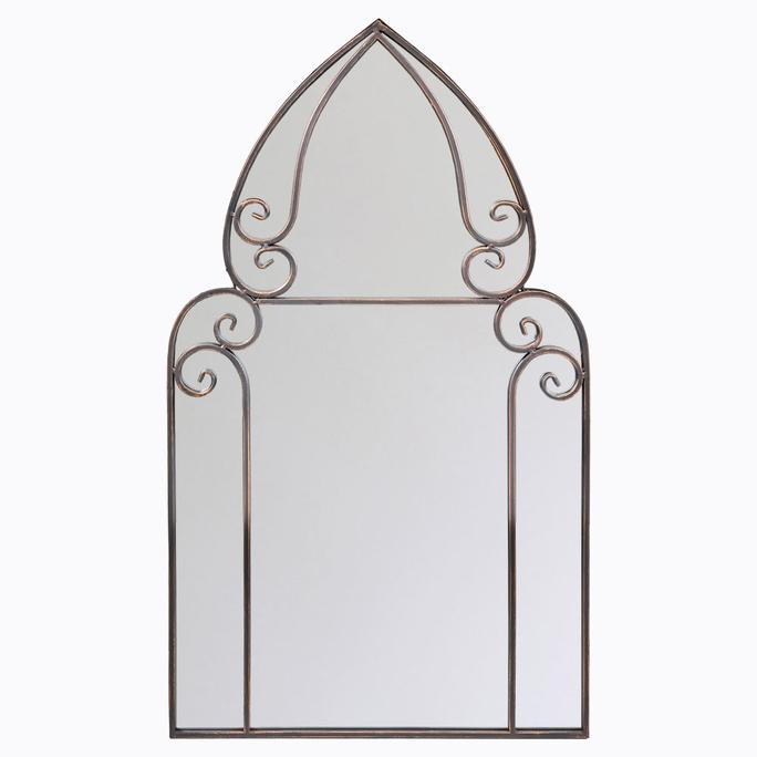 Настенное зеркало «Жерминаль» (бронзовый антик) 5691