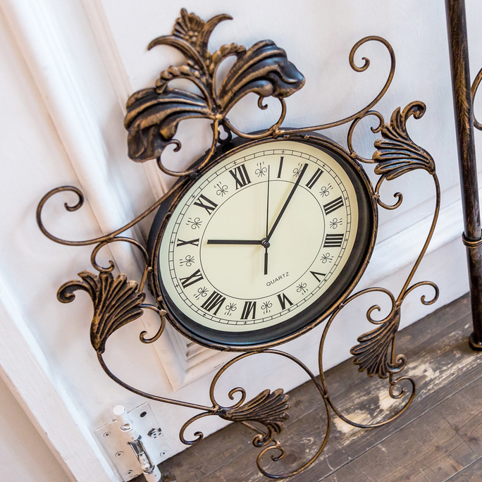 Настенные часы «Нанси» (королевская бронза) 8764