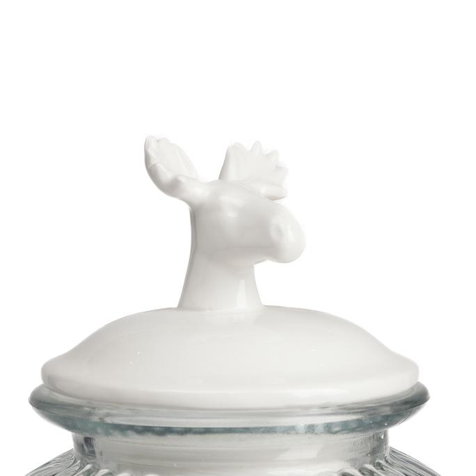 Декоративная банка с крышкой Deer Большая DG-D-1264-1