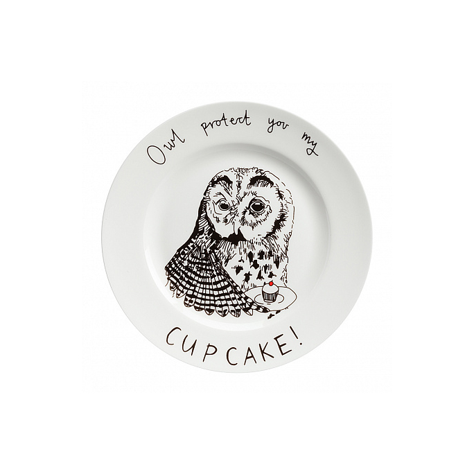 Тарелка Owl protect You My Cup Cake DG-DW-616