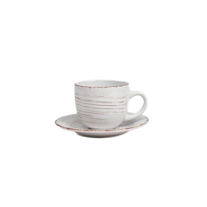 Чайная пара La Cebra Кремовая DG-DW-622-1