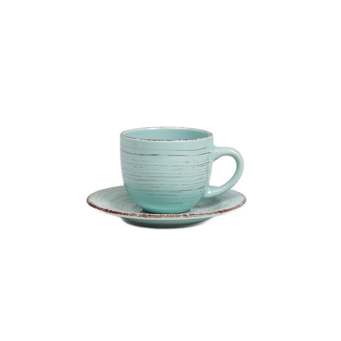 Чайная пара La Cebra Голубая DG-DW-622-2