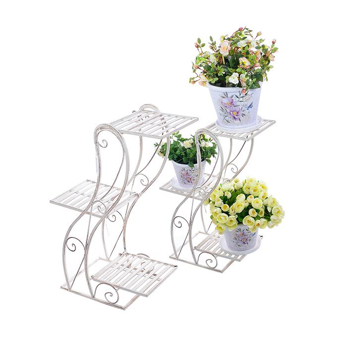 Цветочная подставка Белый ажур PL08-6878