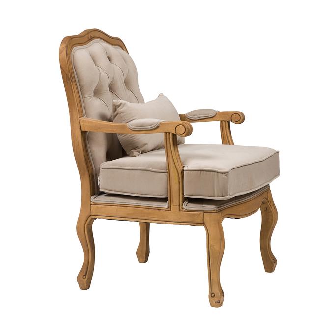 Кресло Belladonna Бежевый Вельвет DG-F-ACH472-1