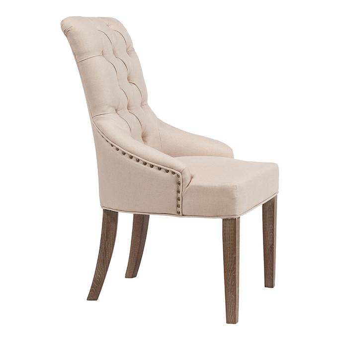 Кресло Martine Armchair Кремовый Лен DG-F-ACH475