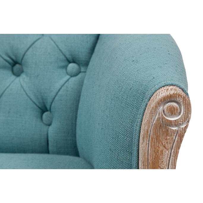 Кресло Cabriole Elizabeth Бирюзовое DG-F-ACH489