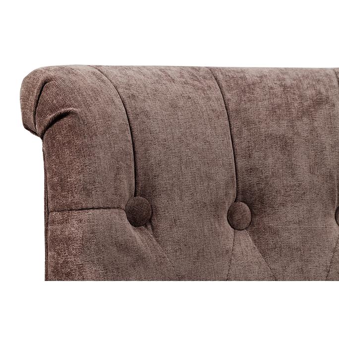 Кресло Dawson Тёмно-коричневый Велюр DG-F-ACH492-15