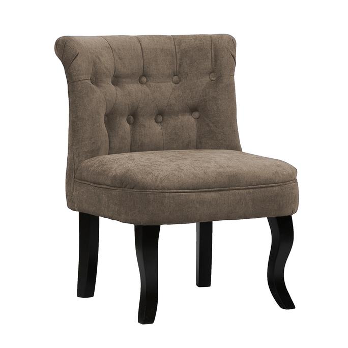 Кресло Dawson Серо-Коричневый Велюр DG-F-ACH492-25