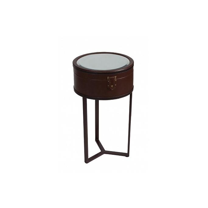 Придиванный круглый столик с зеркалом Lucero Grande DG-F-CFT101-1