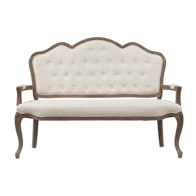 Диван Juliette Sofa Белый Лен DG-F-KSH-333